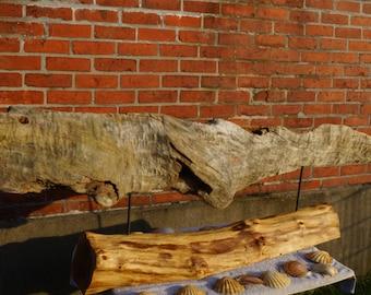 """""""Sperm whale"""" Driftwood sculpture Art Deco unique Shabby Chic"""