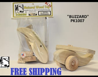 Natural Wood Toy Buzzad Kit 1007