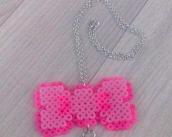 Kawaii Bow Charm Necklace