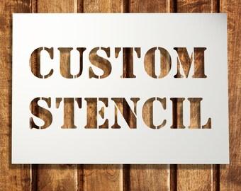 Custom stencils  up to 500 x 700 mm 19.5 x 27.5 in-Ornament Stencil -