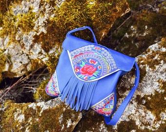 "Handmade leather bag ""LAURA"""