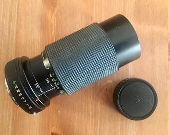 Vivitar 70-210mm f4.5 Macro Focusing Zoom Lens PK-A mount.