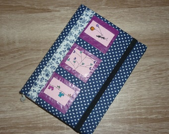 Hand-bound and illustrated diary