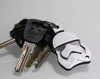 Keychain Stormtrooper, Star Wars, printed in 3D, 4cm long