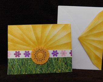 Friendship Sunshine Greeting Card