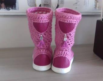 Summer baby booties