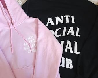 ASSC Anti Social Social Club Logo Hoodie