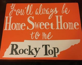 University of Tennessee Sign
