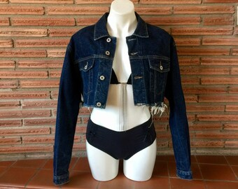 Vintage 90s GUESS Jeans Jean Denim Jacket