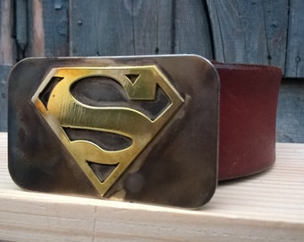 Superman Belt Buckle / DC comics