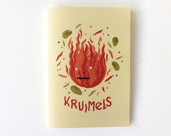 Kruimels Cookbook with illustrations by Knetterijs & Friends (kookboek)