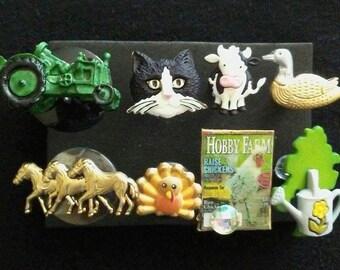 Farm Push Pins