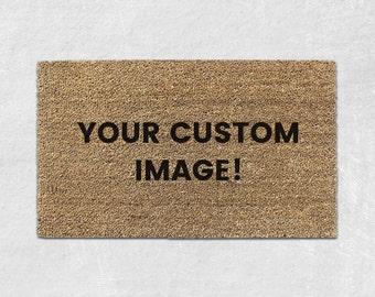 Custom Door Mat - Custom Doormat - Personalized Doormat - Personalized Door Mat - Personalized Welcome Mat - Custom Welcome Mat - Funny 014