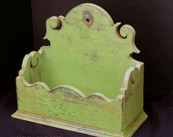 Apple Green Wall / Table Box