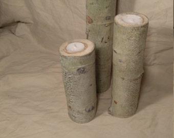 Aspen Candle Holder Set 8,10&12 Inch
