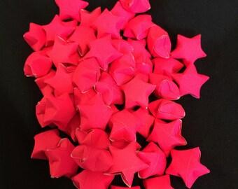 50 Hot Pink Paper Stars
