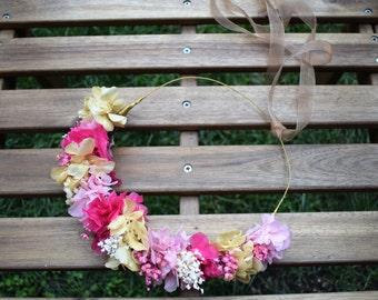 Semi-Corona preserved flowers 'spring'