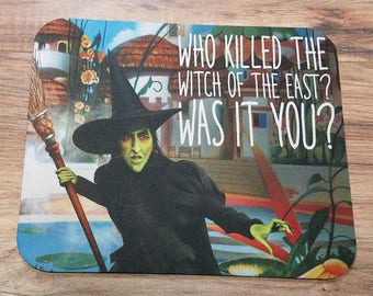 Wizard of Oz Wicked Witch Non-Slip Mouse Pad