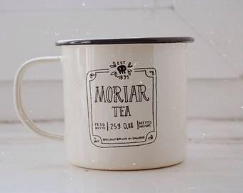 Moriar Tea - Sherlock - Enamel Mug