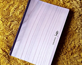Wood Cover Journal, Sketch Book, Notebook | Customize it!