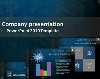 Powerpoint - Company presentation - Digital download
