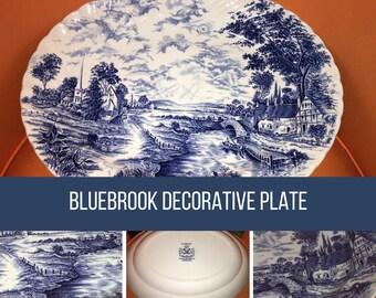 Bluebrook Decorative Serving Plate