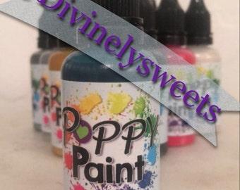 Poppy Paints - Teal Color