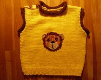 Baby sweater, vests