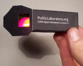 DIY Foldable Mini Spectrometer
