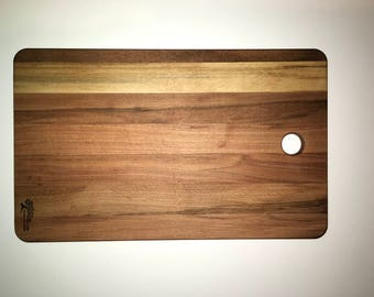 Kitchen hardwood chopping board.