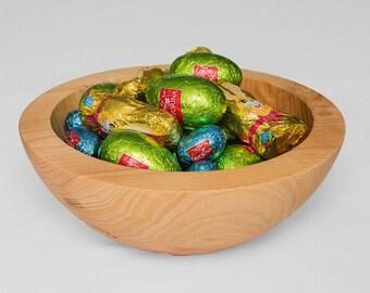 Handmade  English Ash Wood Bowl, Fruit Bowl,