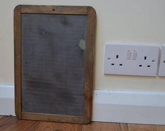 Small Chalk / Black Board in Wooden Frame
