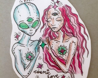 Cosmic Love Sticker