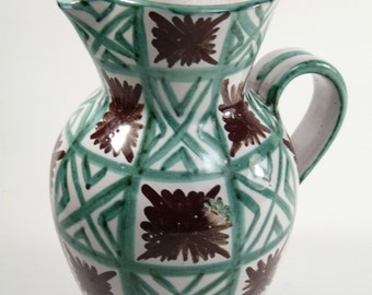 VALLAURIS Pottery - Ceramic Jug - Mid century modern Jug