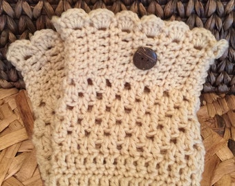 BOOT CUFFS Camel Color