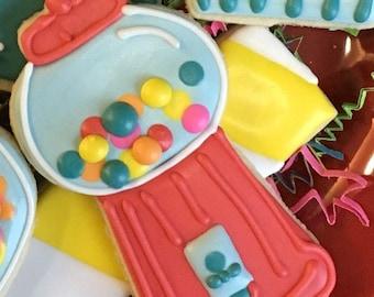 Bubblegum Machine Cookie Cutter
