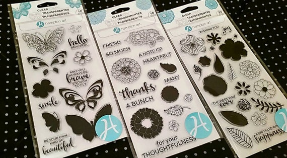 how to use hampton art layering stamps
