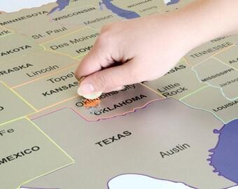 World Map Scratch Off World Map Scratch Off Map Scratch - Scratch off us map