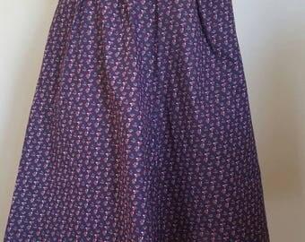 1970s High Waist Skirt