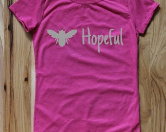 Bee Hopeful Girls Tee