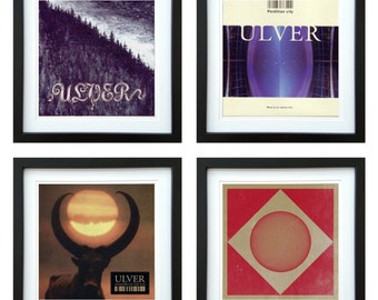 Ulver - Framed Album Art - Set of 4 Images