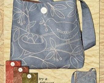 Bluebird Nest Bag Pattern