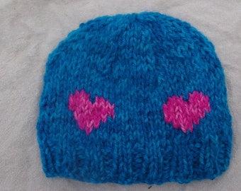 Child Heart Hat 2