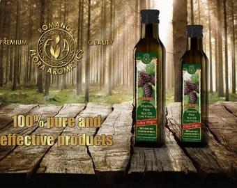 Siberian Pine Nut Oil Cold Pressed Extra Virgin 8.4 FL OZ/ 250Ml by Flora Aromatics