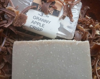 GRANNY APPLE CRISP soap - sliced apple scent & oatmeal