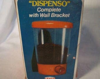Vintage Levco Dispenso Coffee Dispenser with Wall Mount NOS Deadstock