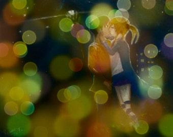 Love Kiss print