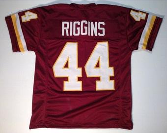 John Riggins UNSIGNED CUSTOM Made Maroon Jersey