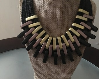 Layered Bib Necklace