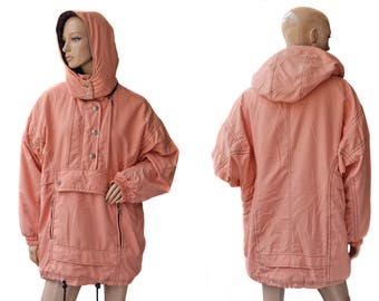 Vintage Rodeo women jacket removable hooded pink